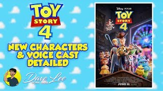 TOY STORY 4 - More New Characters and Cast Detailed & Explained
