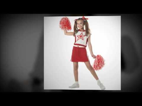 Girls Cheerleader Costumes
