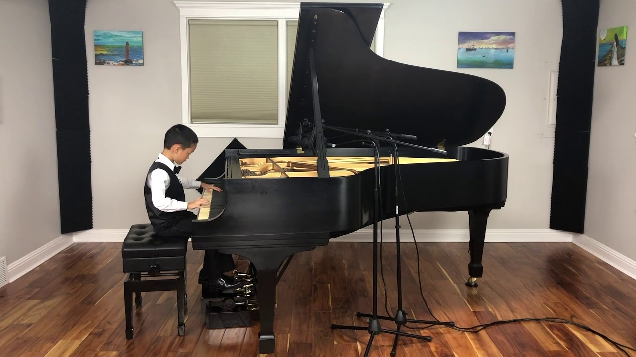 Bluegrass Piano Competition's Winner