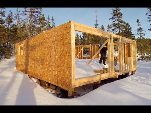 Rural Life Tent Shed Cabin Quad Boat and Firewood & Rural Life: Tent Shed Cabin Quad Boat and Firewood - YouTube