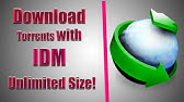 How To Download Torrent Files With IDM Directly With Full