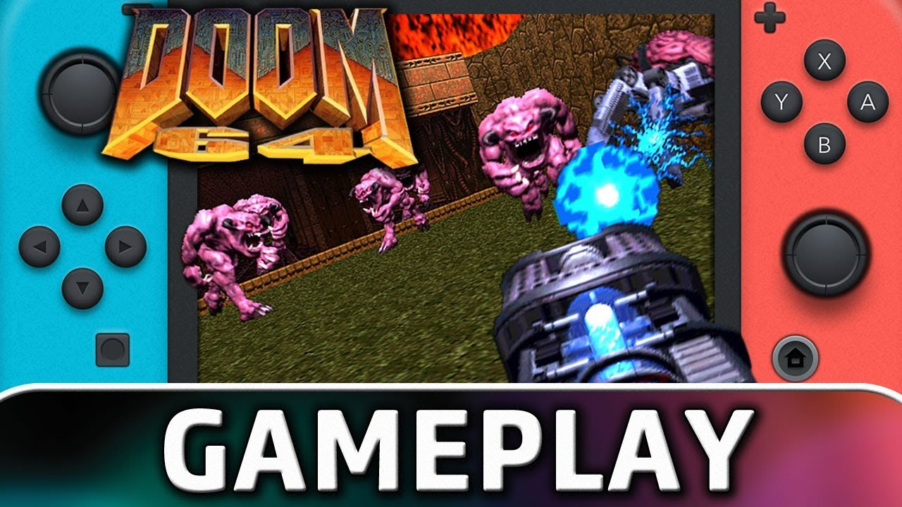 DOOM 64 | First 10 Minutes on Nintendo Switch