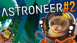 Astroneer - MYSTERIOUS POWER GENERATOR? - Let's play Astroneer! - #2