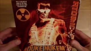 Duke Nukem 3D Atomic Edition Unboxing (PC Big box)