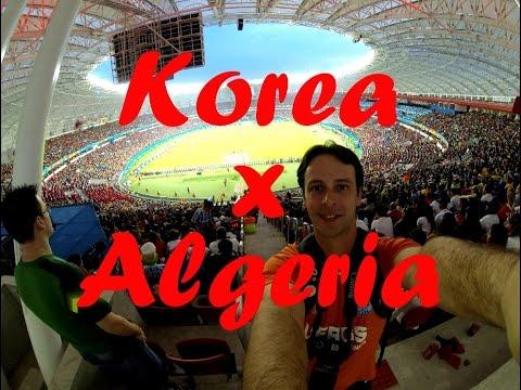Korea x Algeria - Beira Rio Stadium - 2014 Brazil World Cup