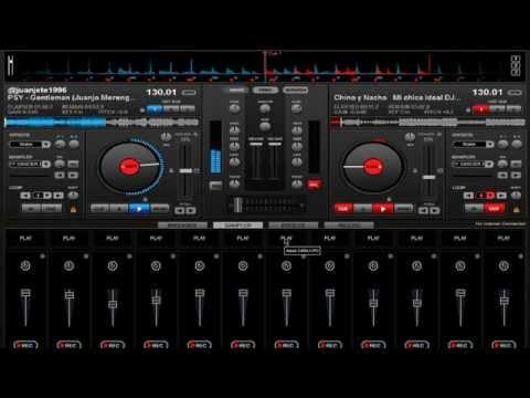 Mezcla Merengue Electronico En Virtual Dj 2013-2014