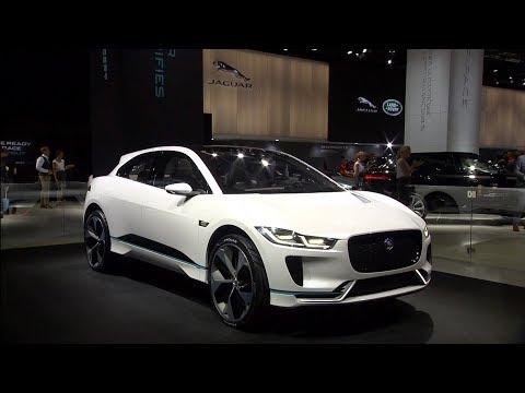 Jaguar stand at the Frankfurt Motor Show