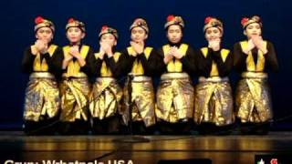 TARI SAMAN Amerika-SAMAN DANCE USA-Colors of Asia-Thomas Jefferson Auditorium, Arlington VA