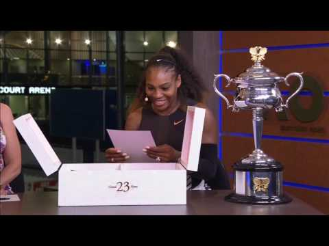 """""""Congratulations on winning Grand Slam Number 23"""": Michael Jordan surprised Serena Williams with a gift after her 2017 Australian Open Title"""