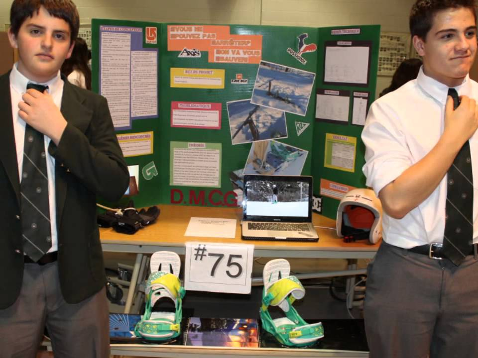 College science fair projects