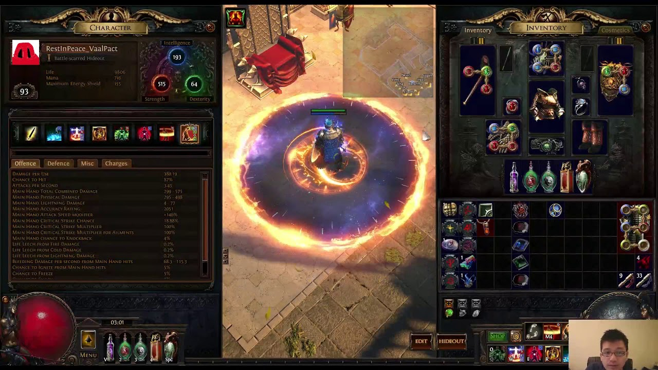 Righteous Fire Totem Build