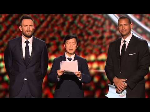 Ken Jeong And Joel McHale Hilarious at ESPYS 2015