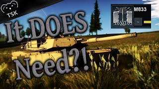 M1 Abrams DOES Need M833?! - Correcting My Previous Videos - (War Thunder Gameplay)