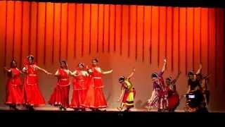 Dheem Ta Dare Fusion - Kathak and Bharatnatyam (Thakshak)