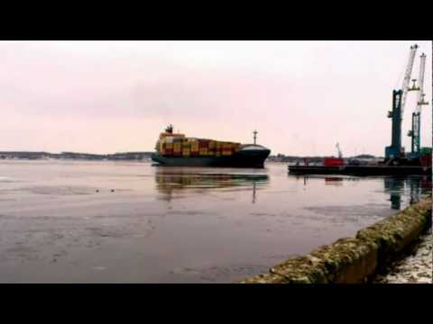 Sandy Rickmers - (Container Vessel) Fredericia