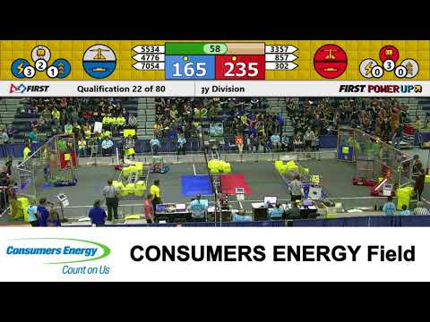 2018 MSC Consumers Energy Field Qualification Match 22