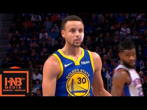 Golden State Warriors vs Detroit Pistons 1st Half Highlights | 12.01.2018, NBA Season