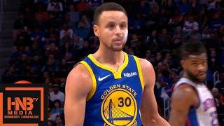 Golden State Warriors vs Detroit Pistons 1st Half Highlights   12.01.2018, NBA Season