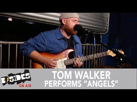 """B-Sides On-Air: Tom Walker Performs """"Angels"""" (Acoustic)"""