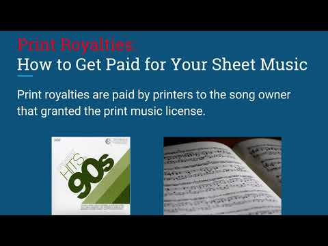 24  #13 Print Royalties  How to Get Paid for Your Sheet Music Mp3