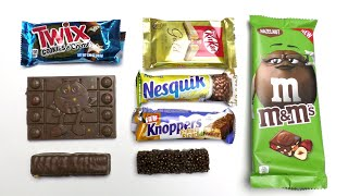 Chocolate Battle: m&m's, Twix, KitKat, Nesquik and Knoppers