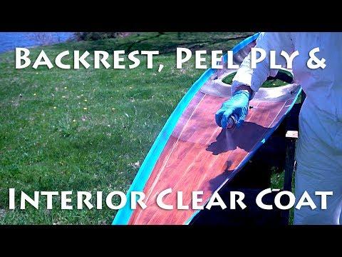 Backrest, Peelply, & Interior Clear Coat - MicroBootlegger Sport - E52