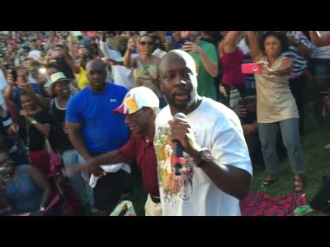 Wyclef Jean Baltimore Artscape 2016 up close and personal