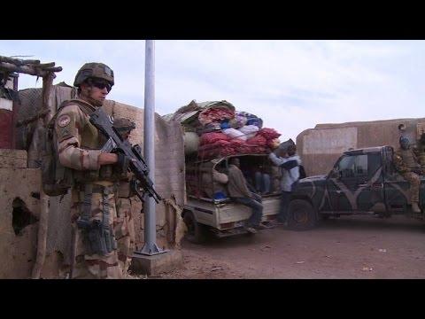 French army battling hidden enemy in northern Mali