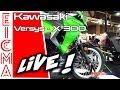 Kawasaki Versys-X 300 | Live da Eicma 2016