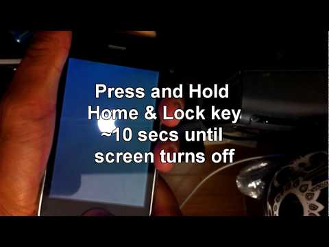 How To Fix An Iphone That Is Frozen After Being Jailbroken And Reset All Settings Or For