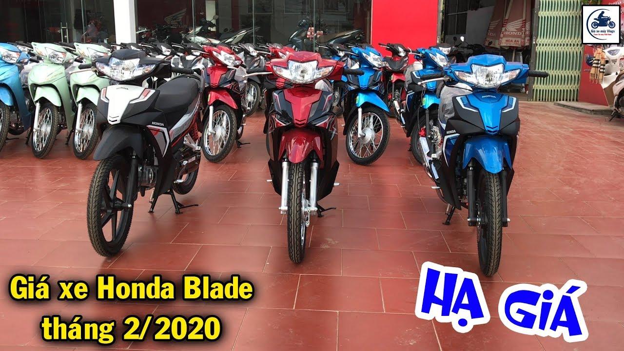 Giá xe Honda Blade 110 tháng 2/2020 giảm MẠNH ▶️ Hóng Honda Blade 2020 ra mắt 🔴 GIÁ XE MÁY VLOGS