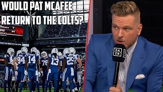 Would Pat McAfee Play For The Colts Again?