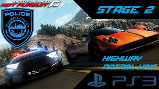 Need for Speed Hot Pursuit (PS3) - Stage 2 [Cop Career] (Highway Patrol Unit)