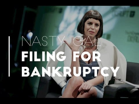 NASTY GAL BUSINESS REVIEW | Filing For Bankruptcy