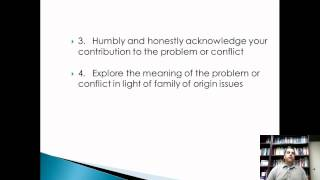 Session 1 Part 2: Conflict Resolution