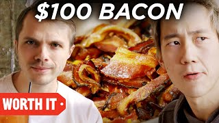 �������� ���� $2 Bacon Vs. $100 Bacon ������