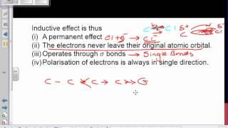Sem 1 Organic Inductive Effect 1