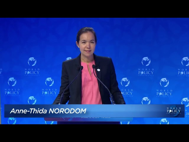 WPC 2019 - Plenary session 6: The weaponization of Law and globalization