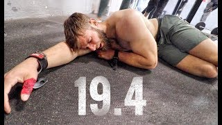 CROSSFIT OPEN WORKOUT 19.4 - That was painful.