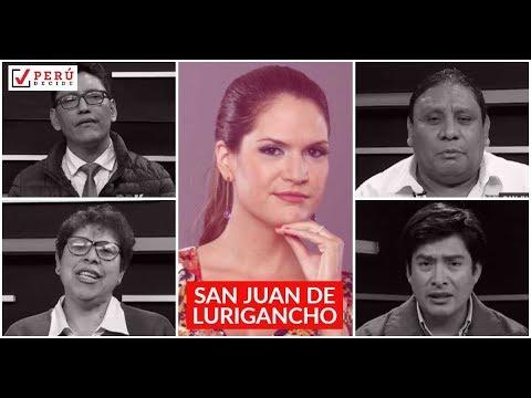 San Juan de Lurigancho en debate: candidatos discuten planes de gobierno | Perú Decide 2018