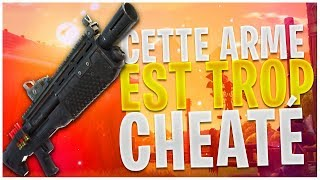 THE DOUBLE POMPE LOURD TROP CHEATÉ (FORTNITE BATTLE ROYALE GAMEPLAY