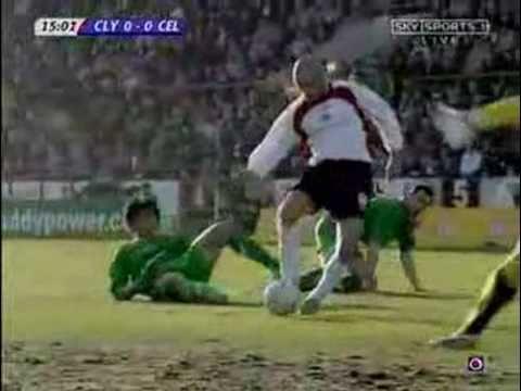 Chinese Legendary Football Player - Du Wei 杜威 Celtic
