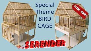 """Serender"" Ahşap Kuş Kafesi Yapımı (Wooden Bird Cage)"