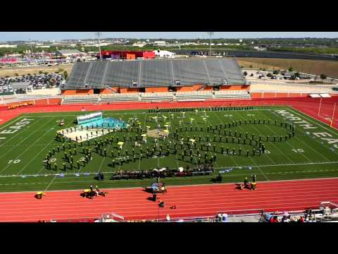 East Central Golden Hornet Marching Band Area D 6A 2014