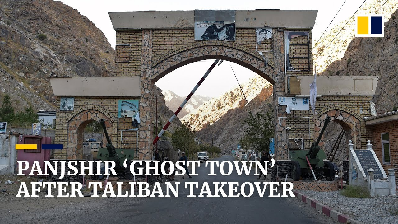 Download Panjshir becomes rebel 'ghost town' after Taliban takeover of last Afghan resistance stronghold