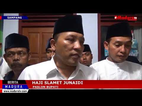 Jihad Deklarasikan Kemenangan Berdasarkan Form C1 Pada Pilkada Kabupaten Sampang Madura TV 30062018