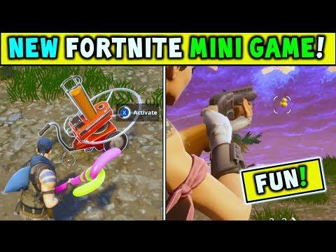 Fortnite *NEW* MINI GAME