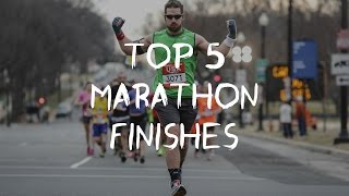 TOP 5//MARATHON AND HALF MARATHON//FINISHES