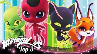 MIRACULOUS | 🐞 KWAMIS 🔝 | SEASON 3 | Tales of Ladybug and Cat Noir