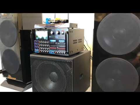 """IDOLmain 8000W Professional Mixing Amplifier With 3000W 12"""" High-End Speakers And Dual Wireless Mics"""